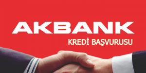 Akbank kredi başvurusu