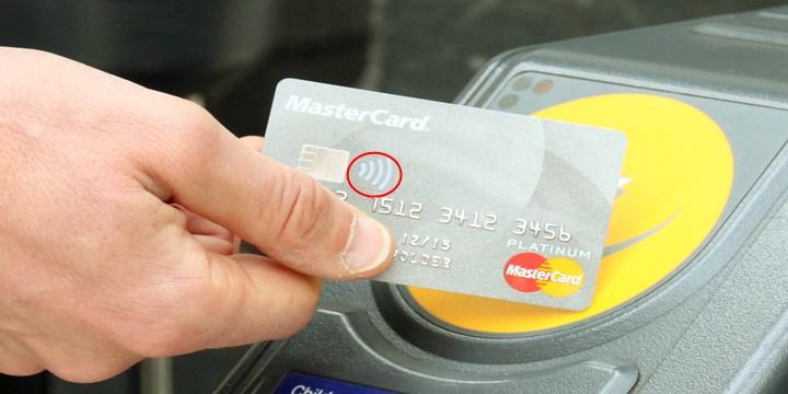 Temassız kredi kartı