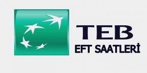 TEB EFT saatleri 2018